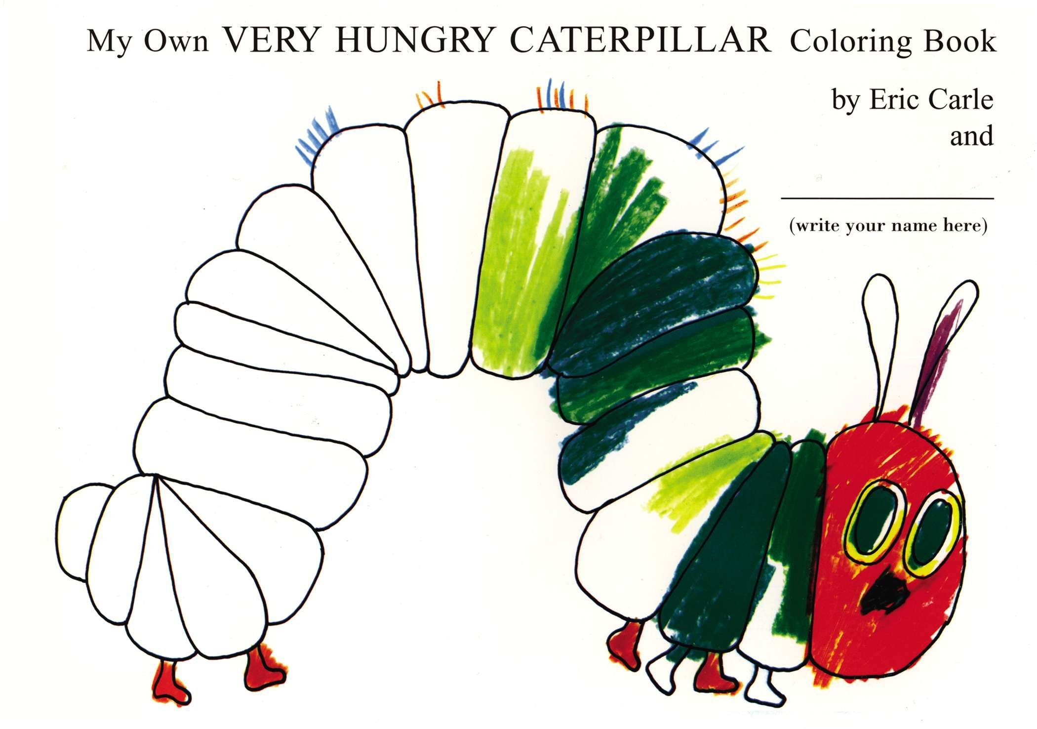 - My Own Very Hungry Caterpillar Coloring Book: Amazon.de: Carle