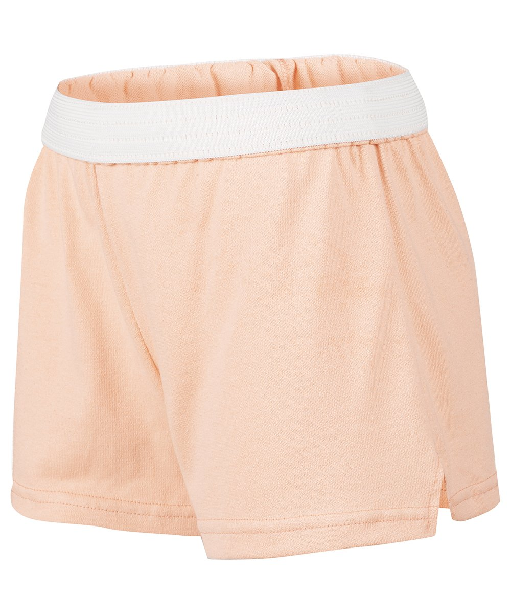 Soffe MJ Big Girls New Low Rise Short, Bleached Coral, Extra Large