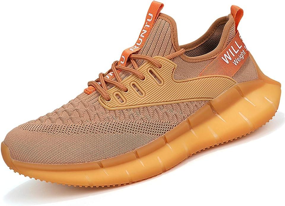 PAQOZKC Zapatillas de Deporte Hombres Running Transpirable Ligero Zapatos para Correr Fitness Atlético Caminar Zapatos: Amazon.es: Zapatos y complementos