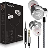 DEIVVOX D0218 Wired Earbuds with Microphone in Ear Headphones - Volume Control Mic - Balanced Sound with Extra Bass…