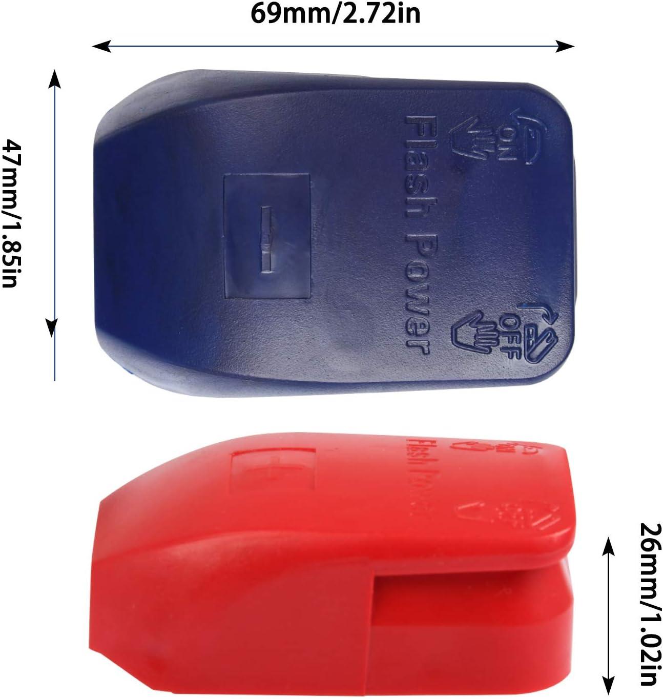 FOCCTS 2 Pi/ècess Cosse Bornes de Batterie de Voiture Connecteurs /à D/égagement Rapide de la Batterie