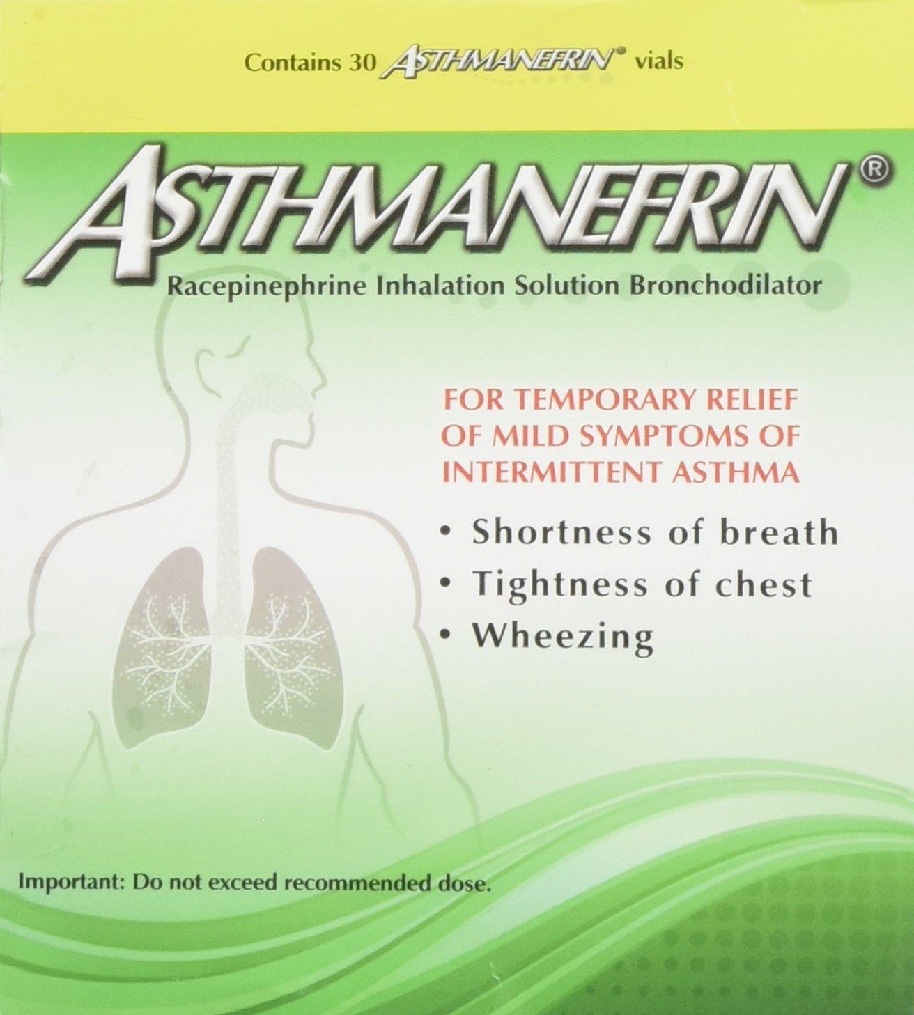 Asthmanefrin Asthma Medication Refill, 30 Count