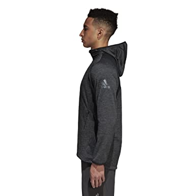 ef1120b9 Amazon.com: adidas Men's Training Climawarm Fleece Hoodie: Clothing