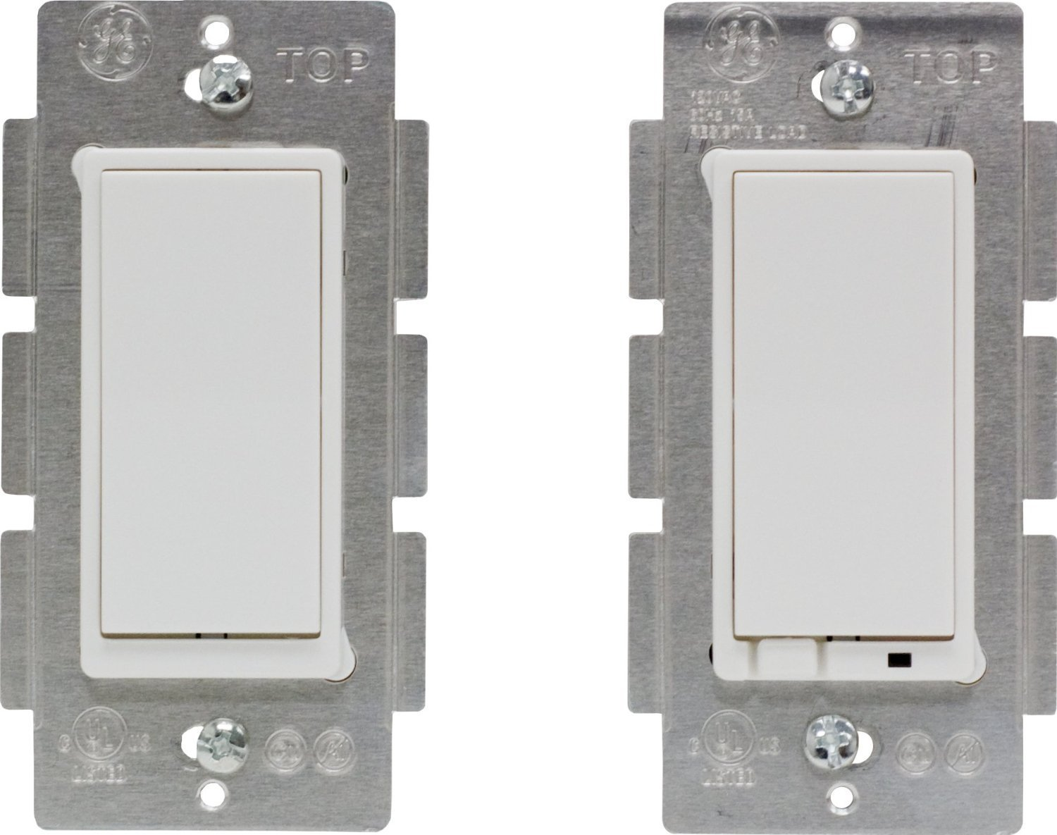 Latest Z Wave Plus Ge By Jasco Wireless Lighting Control Three Way Multiple Light Switch Wiring Diagram Commercial On Off Kit Works With Alexa Retail Packaging Wall Switches