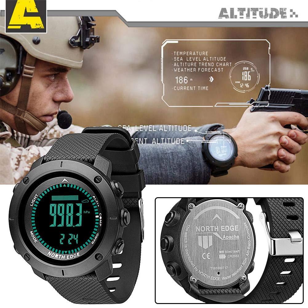 North Edge inteligentes deporte reloj pulsera, digital horas de ...