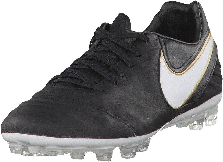 embotellamiento Conveniente anchura  Nike Tiempo Legacy AG-R (9.5) Black: Amazon.ca: Shoes & Handbags