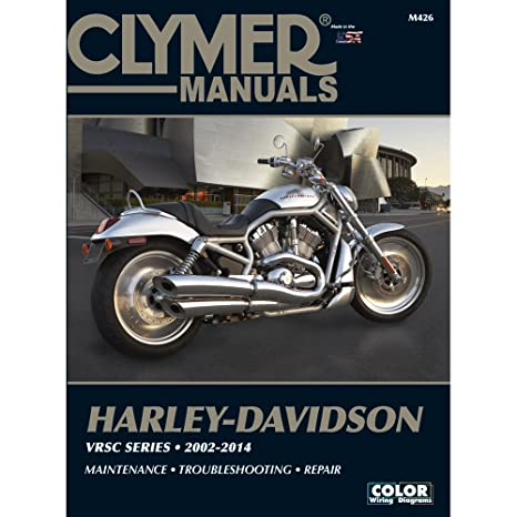amazon com clymer harley davidson vrsc series 2002 2014 automotive rh amazon com 2002 harley davidson sportster 883 service manual pdf 2002 harley davidson sportster 883 manual