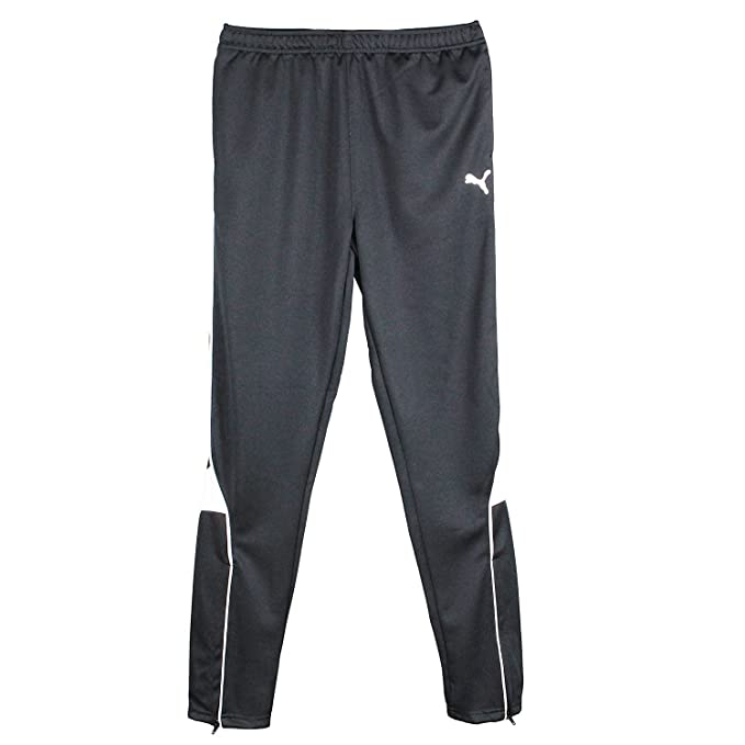 0ed66f3308 PUMA Big-Boys Athletic Soccer Warm up Wind Pants Black - Pure Core Soccer  Pants