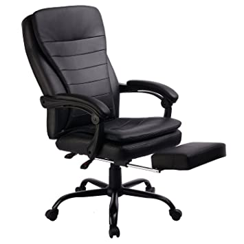 Amazoncom Office Chair High Back Racing chair Style Recliner Big