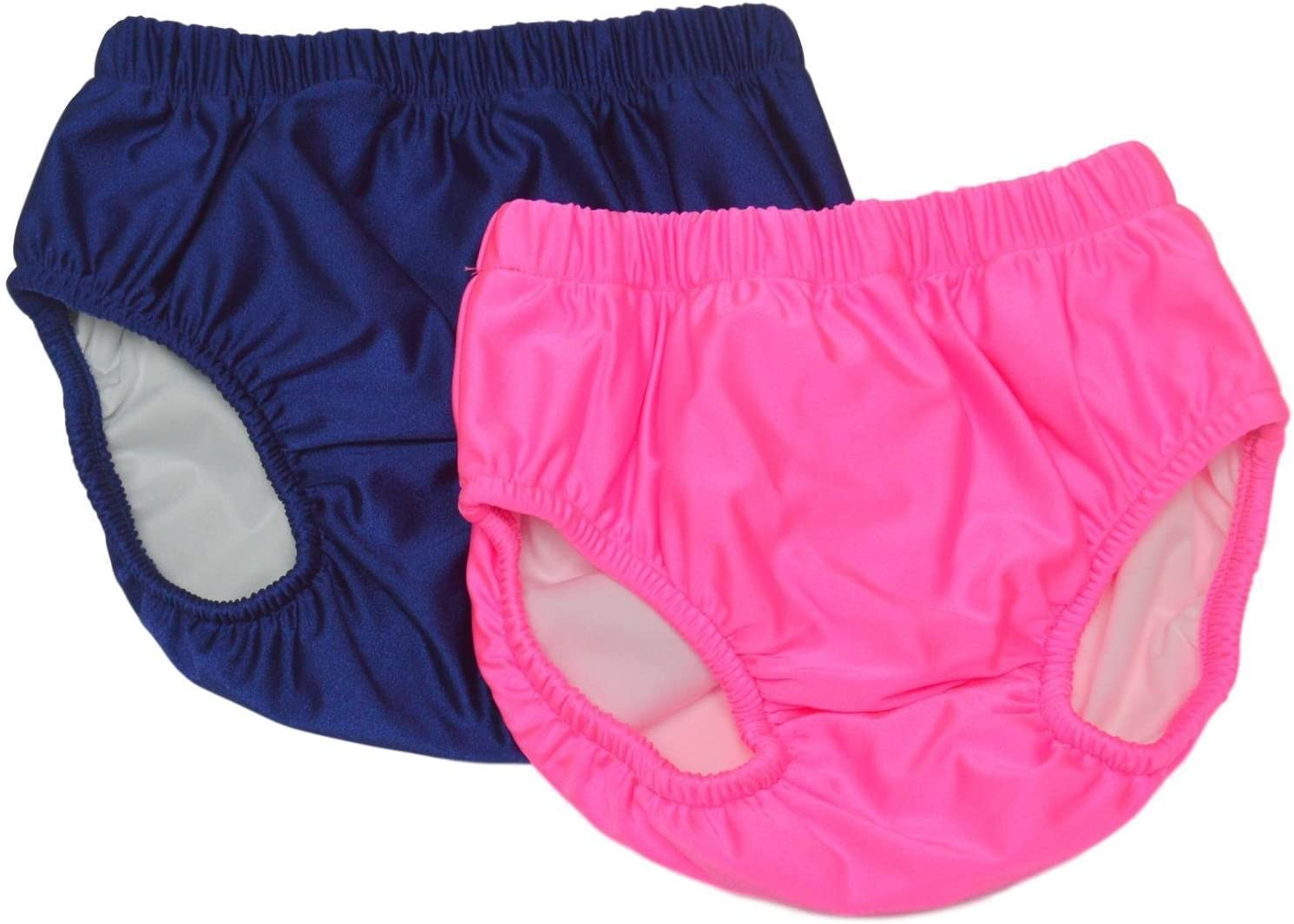 Adult Swim Diapers S-Waist: 26-36; Leg: 17-23, White by Swimsters Reusable Diaper for the Pool