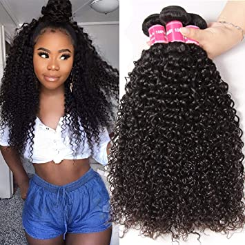 Jolia Hair 8a Curly Bundles 100 Human Hair 8 10 12 Inch Malaysian Short Curly Hair Weave Unprocessed Virgin Curly Double Stitched Weft Natural Black