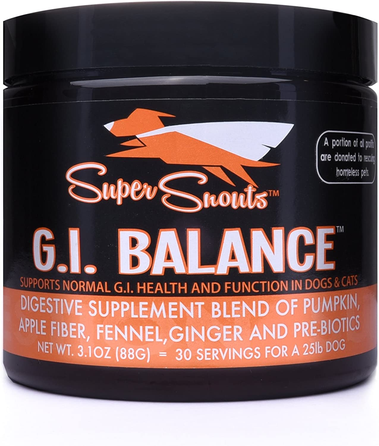 G.I. Balance Digestive Blend Supplement for Dogs and Cats