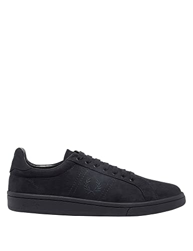 Fred Perry Brushed Cotton Court Hombre Zapatillas Azul 2SkgV