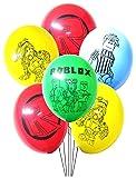 16PC ROBLOX FOIL LATEX BALLOONS BALLOON PARTY SET