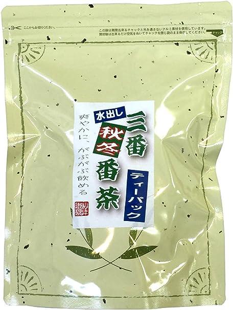 三番秋冬番茶 社山 ティーパック300g(10g×30パック)