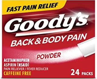 product image for Goody's Back and Body Pain Relief Powder Temporarily relieves Minor Aches and Pains Due to backaches, Headaches, Minor Arthritis Pain, Muscle Aches, colds and Temporarily Reduces Fever