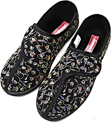 Orthoshoes Womens Diabetic Slippers