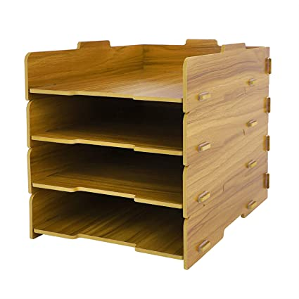 Organizador de escritorio, estante para documentos A4 A5, para el ...