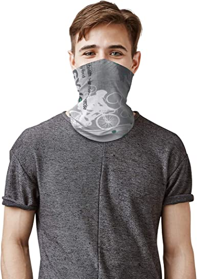 Cooling Neck Gaiter Sun Dust Protection Sport Riding Cycling Face Scarf Headwear