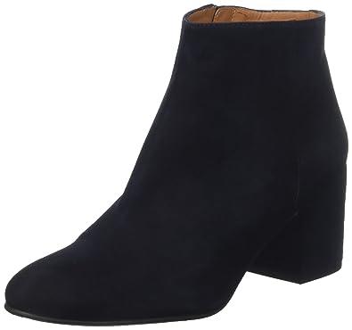 Elna, Bottines Classiques Femme, Noir (Suede Black), 39 EUEmma Go