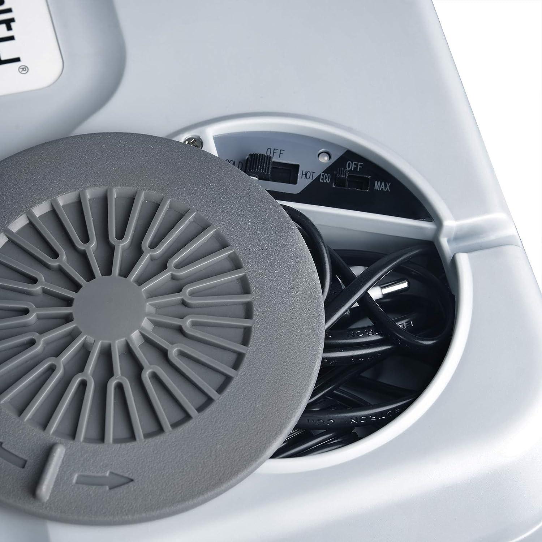 WOLTU KUE008dgr Mini Frigo 26L Frigorifero Piccolo Portatile per Auto Caldo e Freddo 12V//220V Grigio