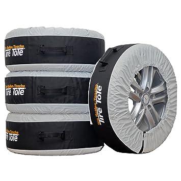 4 fundas para neumáticos, bolsas, para neumáticos y llantas de invierno: Amazon.es: Coche y moto