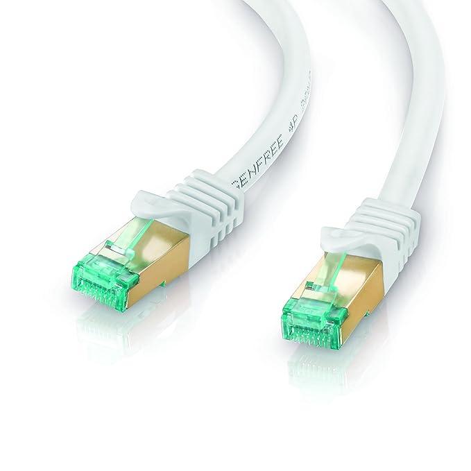 2 opinioni per adaptare 67420 Cavo di Rete Ethernet Rj45, 0 W, 0 V, Bianco, 3.00M