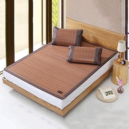 LWFB Colchoneta de verano para dormir / Colchoneta de enfriamiento de bambú individual Colchón / Colchoneta