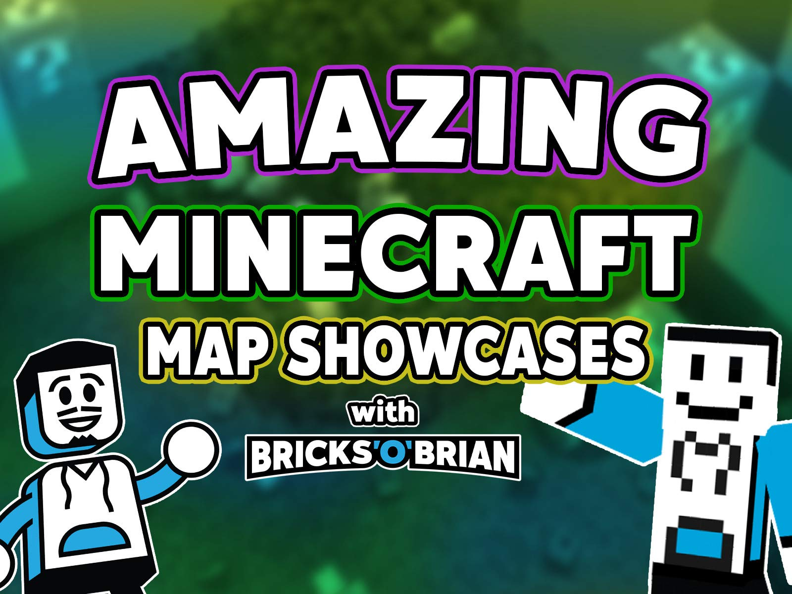 Clip: Amazing Minecraft Map Showcases with Bricks 'O' Brian! - Season 1