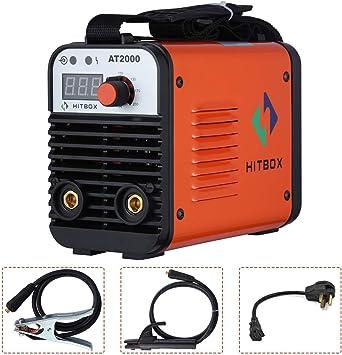 AT2000 ARC Welder Dual Volt 110//220V Inverter MMA ARC Stick ARC Welding Machine