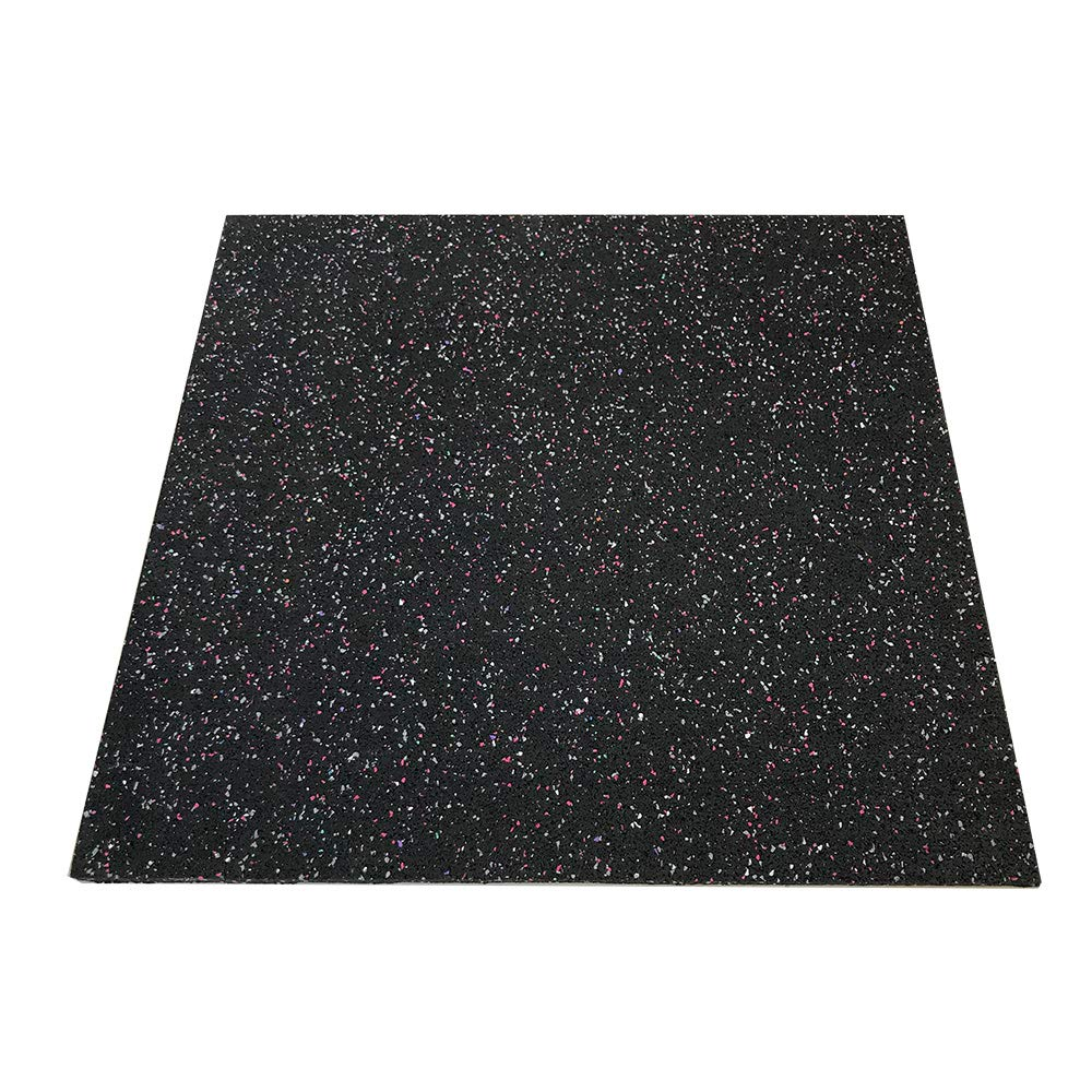RevTime Anti-Vibration Mats, 28'' x 28'', 5/8'' (15 mm) Thick Rubber Mats, Anti-Walk, Anti-Move, Anti-Noise for Washer, Dryer, Audio Equipment, Strength Training Equipment Mat (Pack of 2) by RevTime