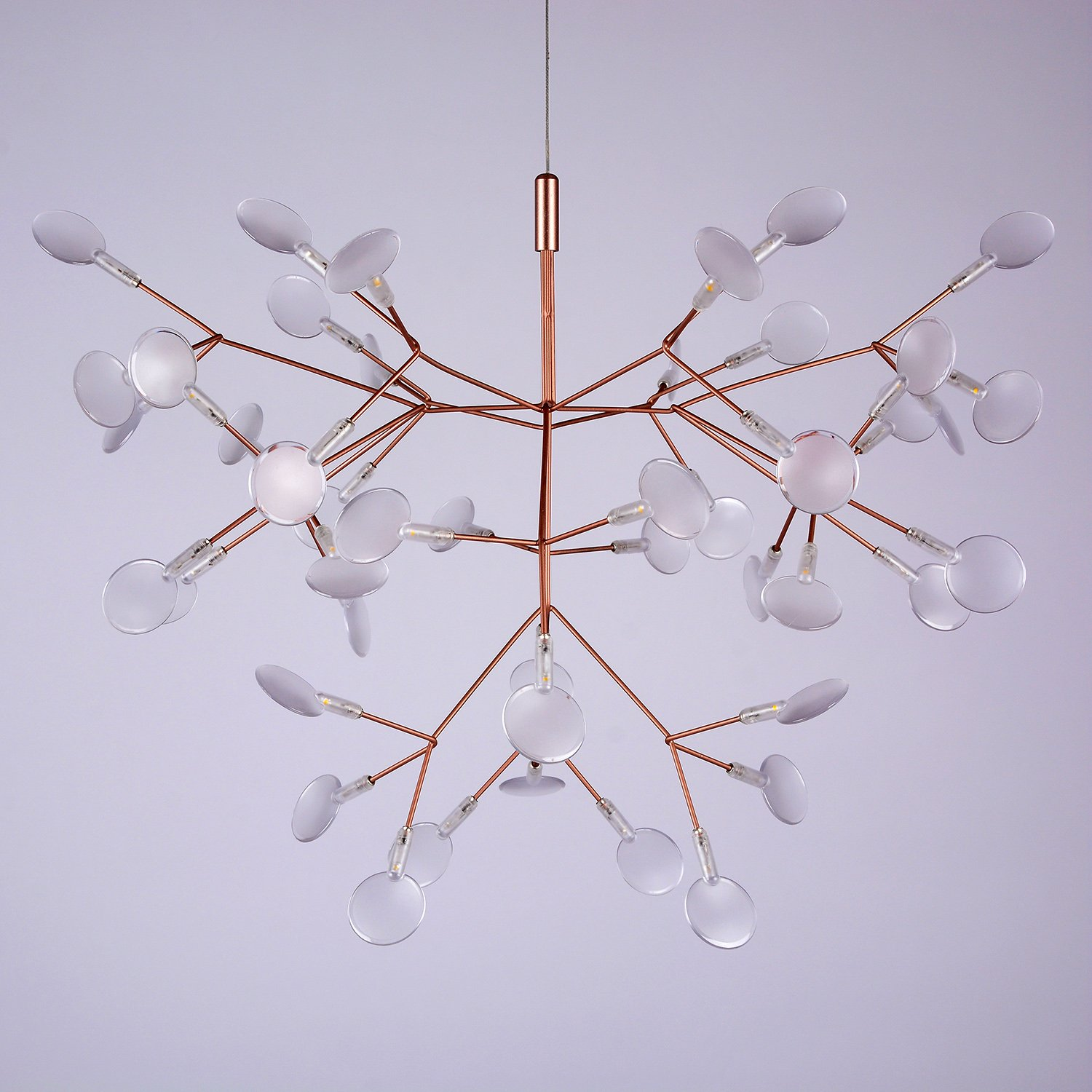 CEENWE Kamille Shiny Branches Chandelier I Postmodern Firefly Cafe