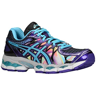 ASICS Gel-Nimbus 16, Damen Laufschuhe Hot Pink/Green/Black ...