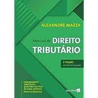Manual de direito tributário - 5ª edição de 2019