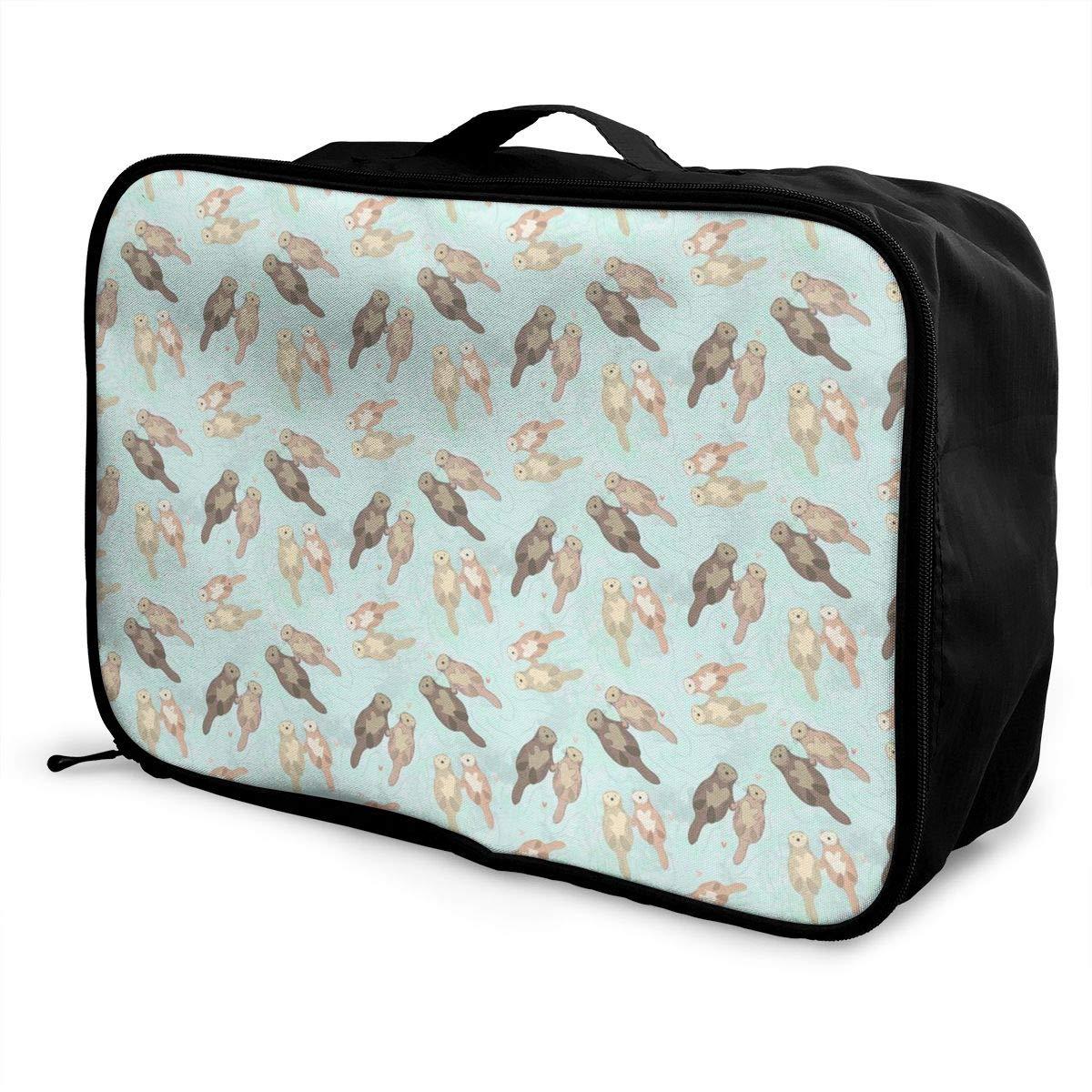 Cute Sloths Travel Duffel Bag Casual Large Capacity Portable Luggage Bag Suitcase Storage Bag Luggage Packing Tote Bag Weekend Trip