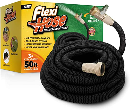 Amazon.com: flexihose actualizado ampliable 50 ft manguera ...