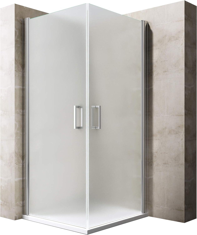 BTH: 70 x 100 x 190 cm Diseño Mampara ravenna22s, con doble puerta ...