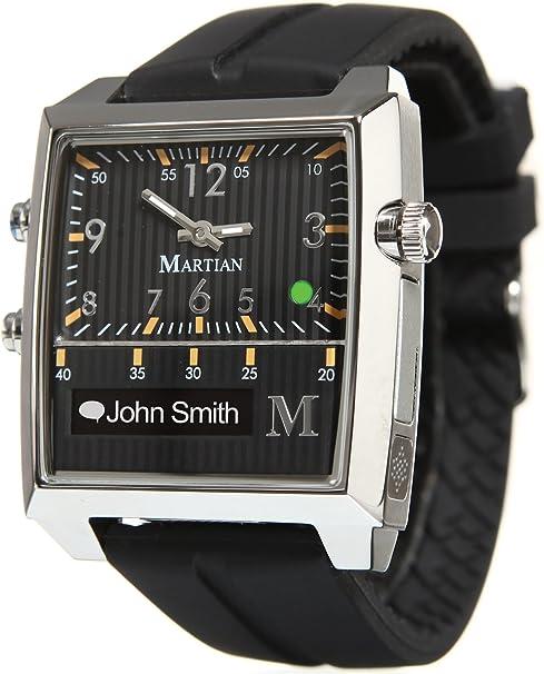 Martian Passport Smartwatches with Amazon Alexa – Analog + Voice (B00FI16820)