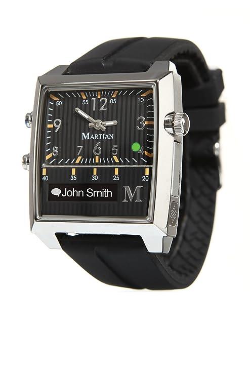Martian Watches Passport OLED Negro, Plata Reloj Inteligente: Amazon.es: Electrónica