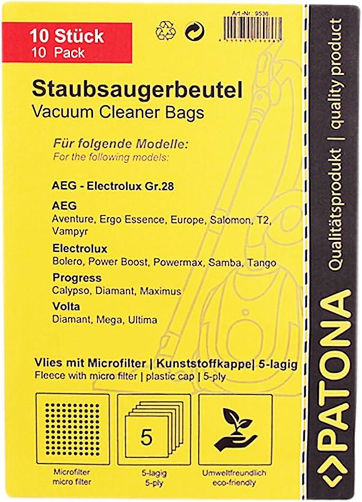 Microfilter per AEG//AEG-Electrolux Vampyr CE Jubilee Sacchetto PER ASPIRAPOLVERE tessuto