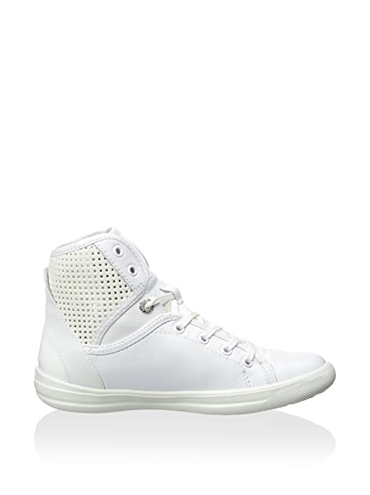 Geox Chaussures d3204a 0MC10C1000Blanc Ayumi - Blanc - Weiß Chaussures de sport pour hommesrobeautomnebusinessweddingmode]glisser surblanc-brun Longueur du pied=26.8CM(10.6Inch) Gnb25wigq6,