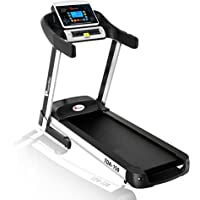 Powermax Fitness TDA-150 (2.5 HP), Smart Run Function, Auto Lubrication & Auto Inclination Motorized Treadmill for Cardio Workout (Free Installation Service)