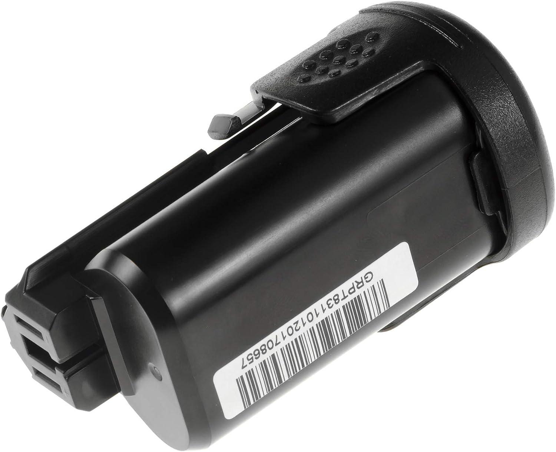 Bater/ía para Bosch PSR 10.8 Li-2 de Herramienta El/éctrica GC/® 1.5Ah 10.8V Li-Ion celdas