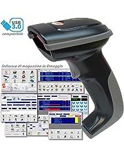 Barcode MAGAWORLD Lettore di Codici A Barre Professionale per Il Mercato Italiano Software Magazzino Omaggio
