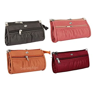 2d85ef5b01 B2B Bags - Women Pu Leather Wallet Clutch Combo Of 4 (Multicolour), Top Ladies  Purse Handbag And Clutch: Amazon.in: Shoes & Handbags