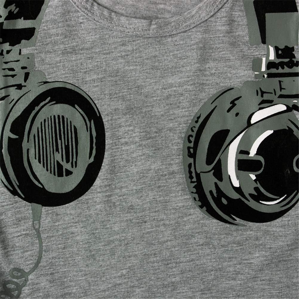 2-7 Ans Enfant Garçon T-Shirt Manche Courte Vêtement Été Tee-Shirt Casque  Imprimé  Amazon.fr  Vêtements et accessoires 0d6593b2d7f