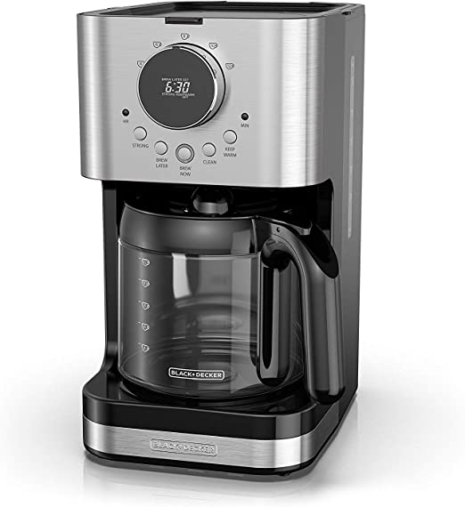 Amazon.com: BLACK+DECKER CM4200S - Cafetera programable de ...