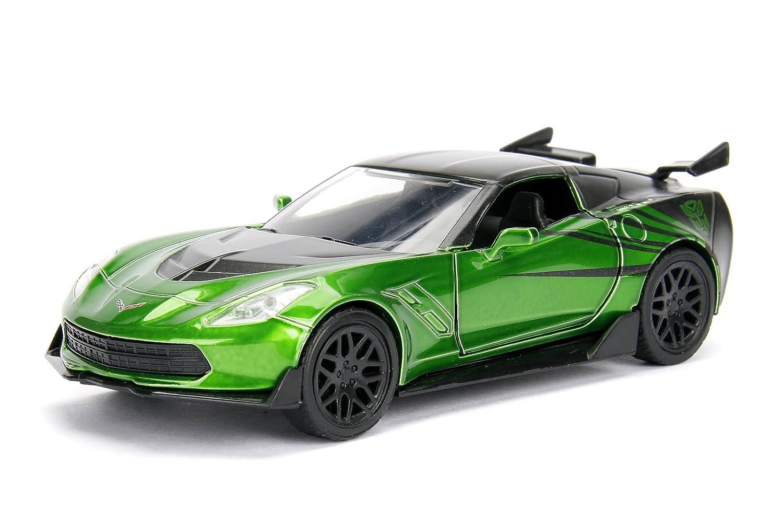 Jada 1 32 Metals Transformers 5 Crosshairs 2016 Chevrolet Corvette Stingray Diecast Model Car