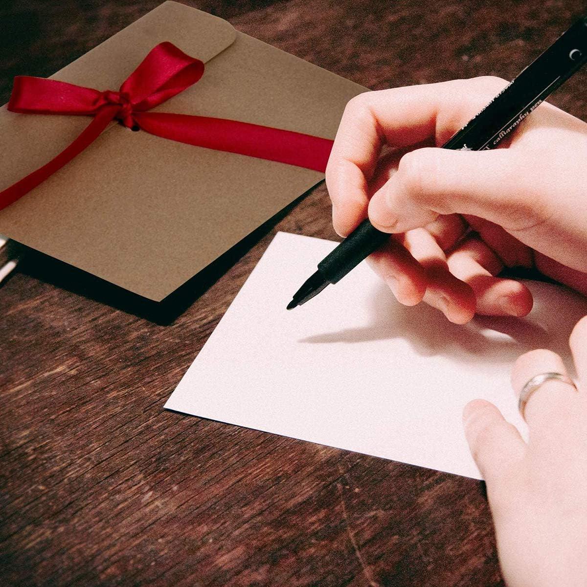 20 Pcs Enveloppe de Papier Nacr/é 4 couleurs Enveloppe de Carte Postale,Creative R/étro Mignon Enveloppe avec Ruban pour Joyeux No/ël Anniversaire De Mariage De F/ête Danniversaire 250 g//m/² 17.5x12.4cm