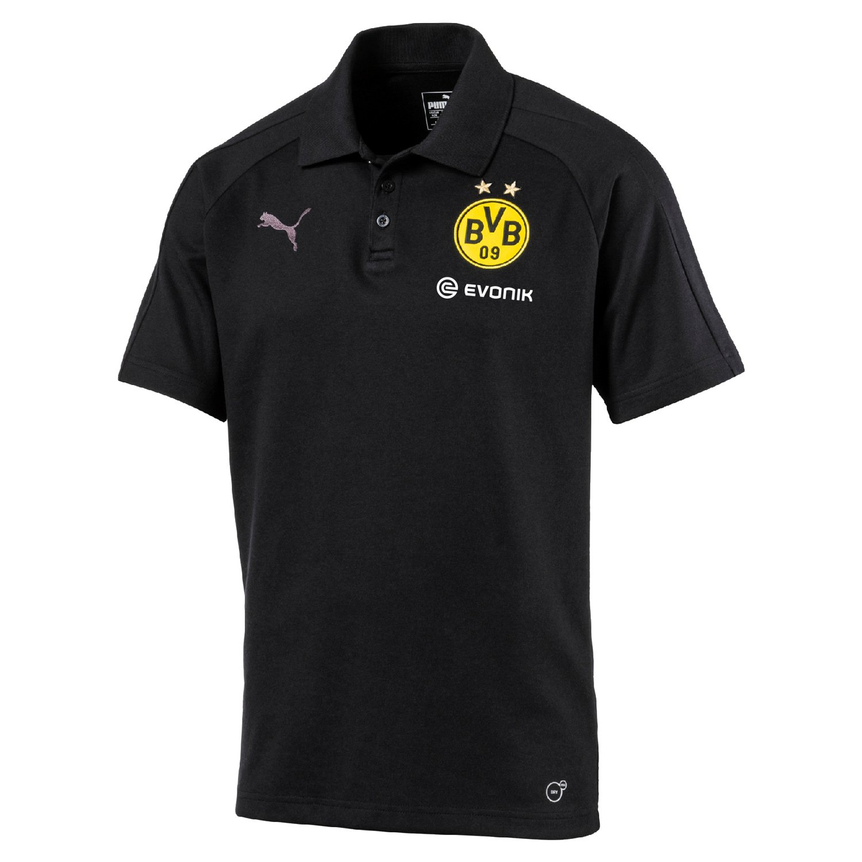 Puma Borussia Dortmund para Hombre Casual Polo con Sponsor ...